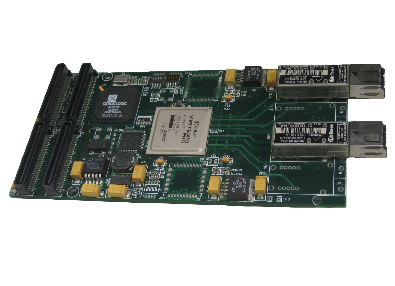 pmc四通道光纤数传板,4channel